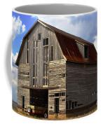 Old Wagon Older Barn Different View Coffee Mug