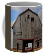 Old Wagon Older Barn Panoramic Stitch Coffee Mug