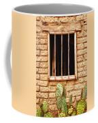 Old Western Jailhouse Window Coffee Mug