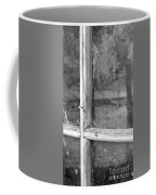 Old Window Reflection Coffee Mug