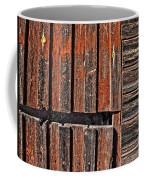 Old Wooden Wall Coffee Mug