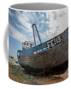 Old Wrecked Fishing Boat Coffee Mug
