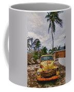 Old Yellow Truck Florida Coffee Mug
