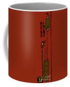 Oldest Water Clock Illustration Coffee Mug