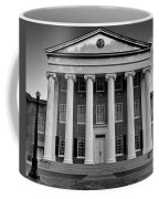 Ole Miss Lyceum Black And White Coffee Mug