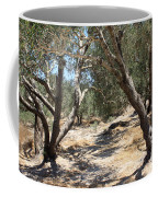 Olive Trees At Sebastia Coffee Mug