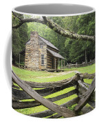 Oliver Cabin In Cade's Cove Coffee Mug