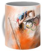 Olympics High Jump Gold Medal Ivan Ukhov Coffee Mug