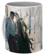 On Deck Coffee Mug by Louis Anet Sabatier