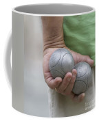 On The Boules Pitch Coffee Mug