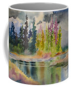 On The Colourful Pond Coffee Mug