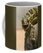 On The Heel Of A Boot A Flap-necked Coffee Mug