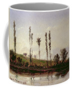 On The Outskirts Of Paris Coffee Mug by Camille Pissarro