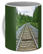 On The Rails Coffee Mug