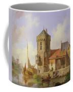 On The Rhine Coffee Mug by Cornelius Springer