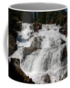 On The Rocks Glen Alpine Falls Coffee Mug