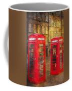 On The Streets Of Edinburgh  Coffee Mug