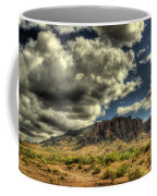 On The Superstitions  Coffee Mug