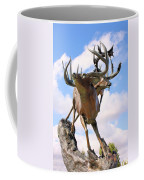 On Top Of The World Coffee Mug by Kristin Elmquist