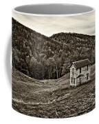 Once Upon A Mountainside Sepia Coffee Mug