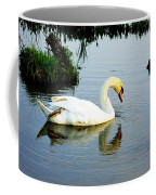 One Foot At Ease Swan Coffee Mug