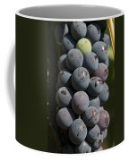 One Green Grape Stands Out In A Bunch Coffee Mug by Heather Perry