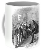 One-room Schoolhouse, 1874 Coffee Mug by Granger