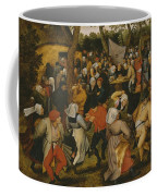 Open Air Wedding Dance Coffee Mug by Pieter the Younger Brueghel