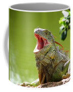 Open Mouth Iguana Coffee Mug