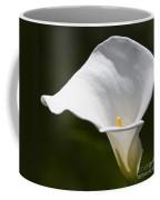 Open White Calla Lily V Coffee Mug