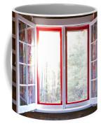Open Window In Cottage Coffee Mug by Elena Elisseeva