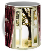 Open Window To Tree Coffee Mug
