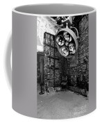 Operating Room - Eastern State Penitentiary - Black And White Coffee Mug