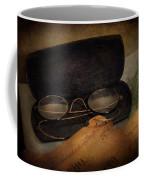 Optometrist - Glasses For Reading  Coffee Mug by Mike Savad