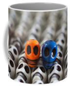Orange And Blue Coffee Mug