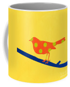 Orange Bird Coffee Mug