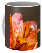 orange Bougainvillea Coffee Mug