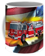 Orange Fire Auth T43 Coffee Mug