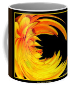 Orange Gerbera Daisy Warp Coffee Mug