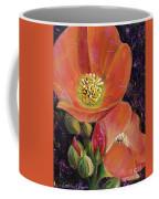 Orange Globe Mallows Coffee Mug