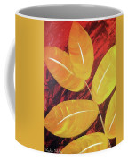 Orange Leaves Coffee Mug