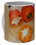 Orange Peppers Coffee Mug