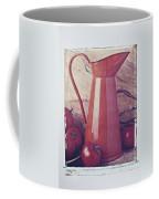 Orange Pitcher And Tomatoes Coffee Mug