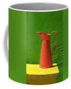 Orange Pitcher Coffee Mug