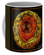Orange Ranunculus With A Chrome Effect Coffee Mug