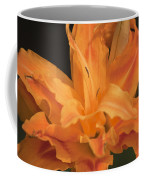 Orange Ruffles Coffee Mug