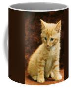 Orange Tabby Mixed Breed Kitten  Coffee Mug