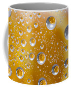 Orange Water Drops Coffee Mug