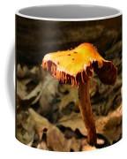 Orange Wild Mushroom Coffee Mug