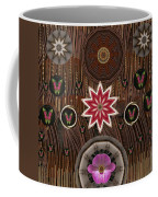 Orchids And Leather Coffee Mug